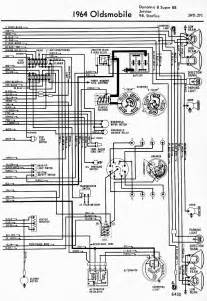 wiring diagram for 1964 oldsmobile dynamic and 88 jetstar 98 and starfire part 2
