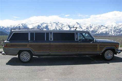 jeep grand limousine jeep wagoneer limousine for the outdoorsman with lavish