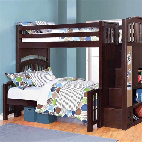 twin over double bunk bed twin over full bunk beds defaultname retail price