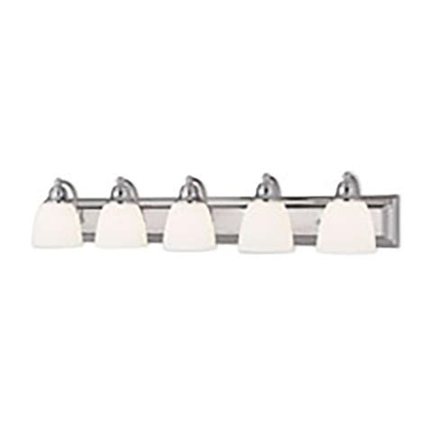 lighting stores springfield livex lighting springfield 5 light chrome bath light 10505