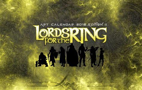 libro tolkien calendar 2018 calendars i signori dell anello tornano a colpire 187 universo fantasy