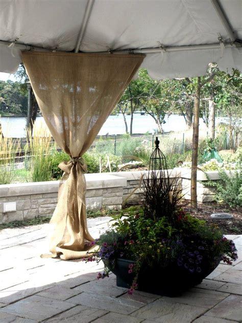 burlap draping wedding best 25 burlap drapes ideas on pinterest burlap living