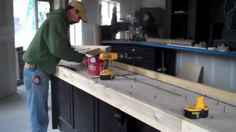 bar top prep concrete bar top dublin square la crosse wi