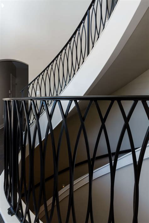 Banister Iron Works by Railings For Interior Best Trends