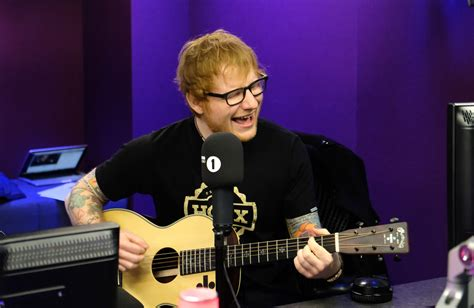 ed sheeran latest song ed sheeran swears on radio 1 promoting new songs castle on