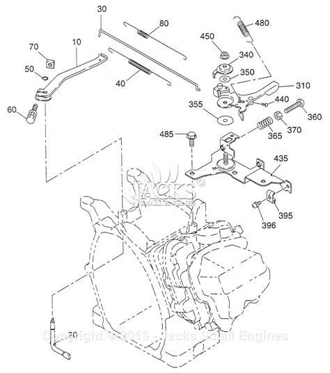 robin subaru ex21 parts diagram for governor style