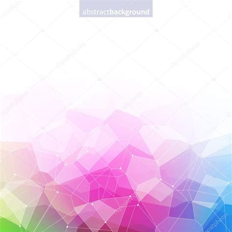 colorful crystal wallpaper colorful abstract crystal background stock vector 169 rea