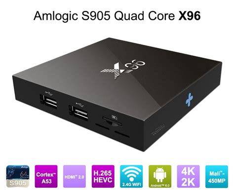 Android Tv Box X96 4k S905x Android 6 0 X96 Android 6 0 Marshmallow 1g 8g Tv Box 4k S905x