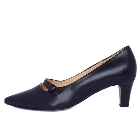 shoes for charity gabor court shoes charity s kitten heel navy