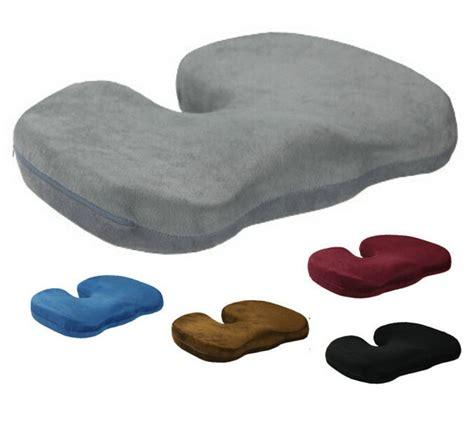 Kursi Pijat Untuk Mobil tulang ekor kursi busa memori ortopedi untuk kursi rumah kantor mobil bawah kursi bantal pijat