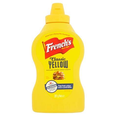Classic Yellow Mustard By Sokolati s classic yellow mustard 397g from ocado