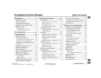 car service manuals pdf 2012 honda crosstour regenerative braking download 2012 honda crosstour navigation manual pdf 156 pages