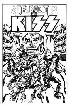 kiss band coloring book - The Indie Rock Coloring Book Pages AZ ...