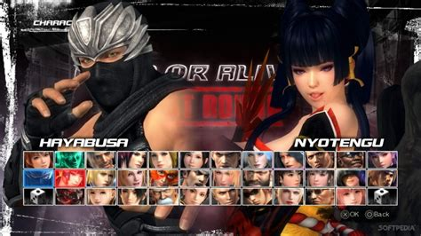 Connect Character Alive 2 dead or alive 5 last reloaded settings fix free