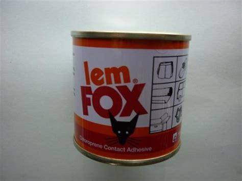 Lem Fox Kuning 5 Kg Lem Fox Kuning 70g 187 187 Toko Bangunan Dibatam