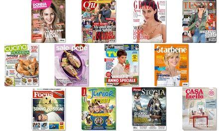 ufficio abbonamenti mondadori abbonamenti digitali mondadori di 6 mesi riviste mondadori