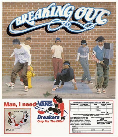 Sale Stop Kran Mj 03 Cabang T vintage vans breakers breakdancing shoes