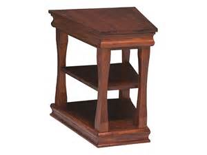 wedge end table wedge table leick favorite finds recliner