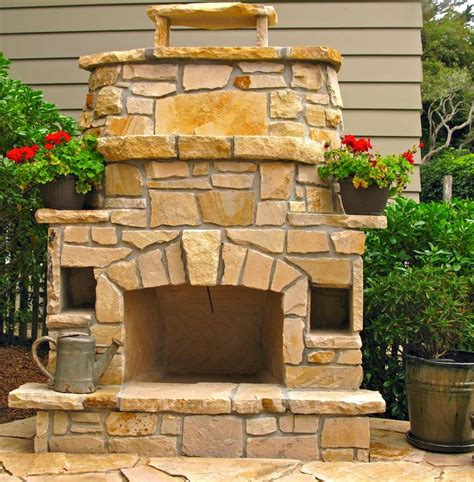 How To Build An Outdoor Fireplace Casual Cottage 24 Best Images About Outdoor Fireplace On Pinterest