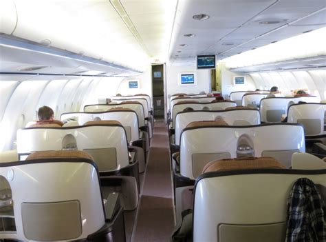 Iberia Cabin by Iberia Business Class A340 600 Review Travelsort