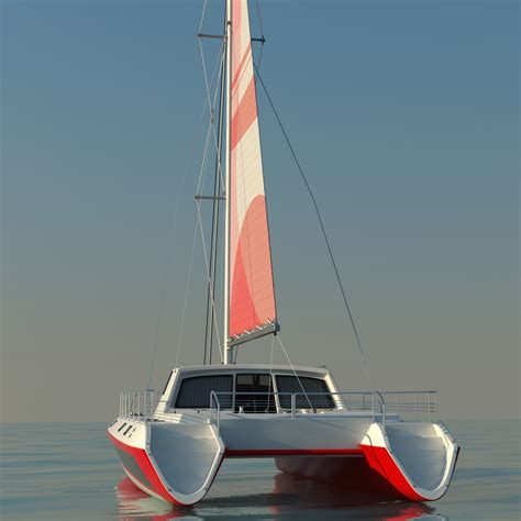 catamaran model catamaran 2 3d models cgtrader