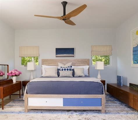 ceiling fan in bedroom stay cool modern ceiling fans centsational style