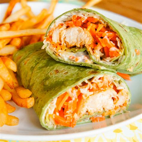buffalo chicken wraps a fun and tasty dinner idea the weary chef