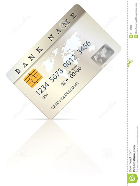 Credit Card Design Template Vector Credit Or Debit Card Design Template Royalty Free Stock Image Image 31167696