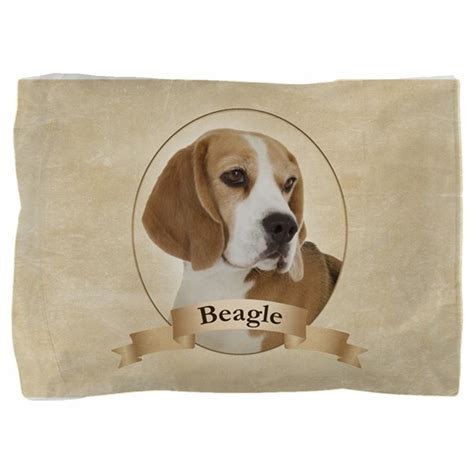 Beagle Pillow by Beagle Pillow Sham By Shopdoggifts