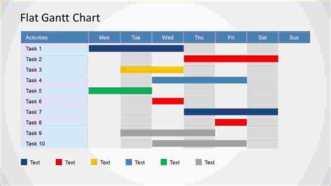 4  simple gantt chart template   Ganttchart Template