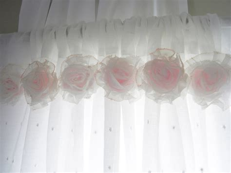 Nursery Room Curtains Shabby Chic Pink Flower Curtains Baby Nursery
