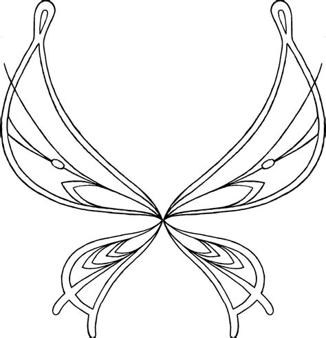 female angel wings coloring coloring pages