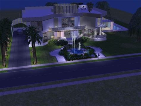 ultra modern luxury home in the heart of edmonton case mod the sims ultra modern luxury home