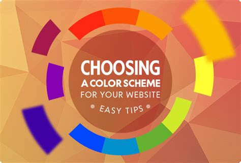 understanding color schemes choosing colors for your website web ascender choosing a color scheme for your website easy tips