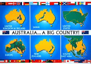 What Country Made Map Cards From Australia And Usa Postcards Worldwide