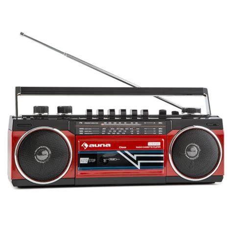 cassette radio player duke retro boombox portable cassette player usb sd