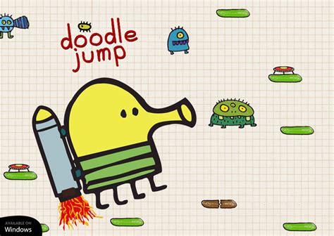doodle from doodle jump دانلود بازی doodle jump برای ویندوز ۱۰ موبایل به صورت