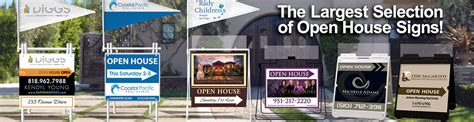 open house real estate signs real estate signs open house signs for sale signs by dee sign 174 california
