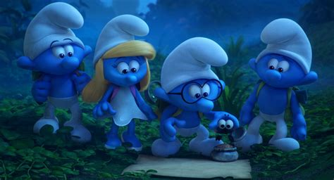 smurfs the lost smurfs the lost preview featuring trainor s song