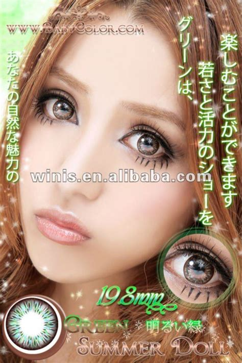 black doll contact lens wholesale cheap circle contact lens summer doll baby color