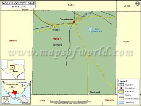 nolan county texas map nolan county map map of nolan county texas