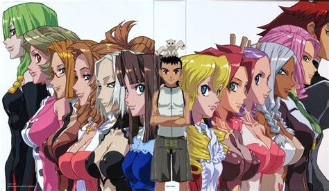 anime genre harem school gamer freakz high school harem mecha a combination