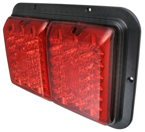 surface mount led tail lights bargman led surface mount double tail light 84 85