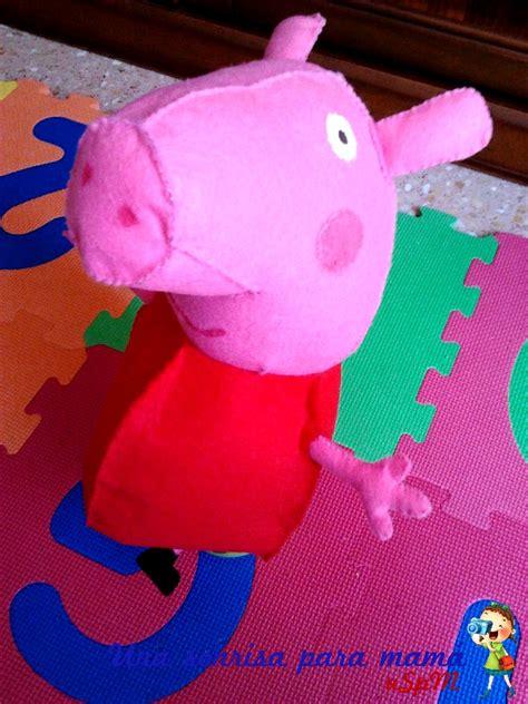 como hacer una pepa pig como hacer a pepa pig con tela bolso de peppa pig de fieltro hecho a mano por como hacer