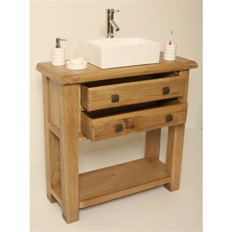 ohio rustic oak bathroom vanity cabinet click oak
