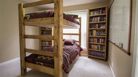 Bunk Bed Plans 2x4 Build A Bunk Bed Jays Custom Creations