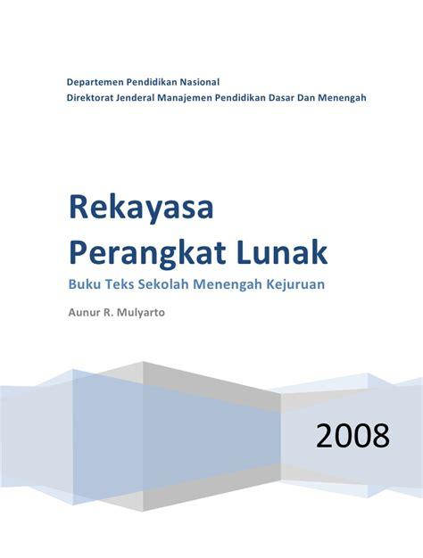 Rekayasa Perangkat Lunak 1 smk mak kelas10 smk rekayasa perangkat lunak aunur