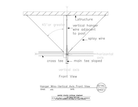 wire details suspended ceiling seismic clip detail pictures to pin on