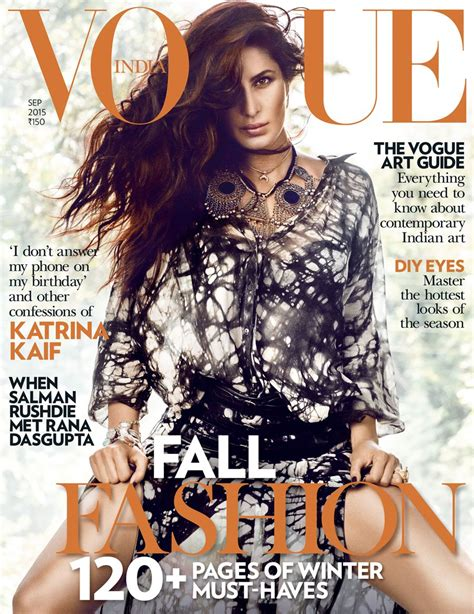 Vogue Indias Issue by On Vogue India Cover Sep 2015