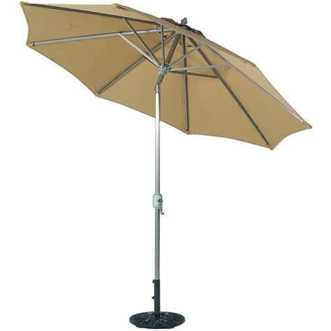 Umbrellas Patio 9 Deluxe Auto Tilt Patio Umbrella